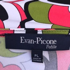 Evan Picone Tops - Evan Picone faux wrap top